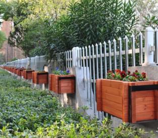 花箱|黑河花箱厂家|黑河塑木花箱|黑河防腐木花箱