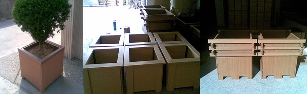 花箱|防腐木花箱-河北绿丰花箱